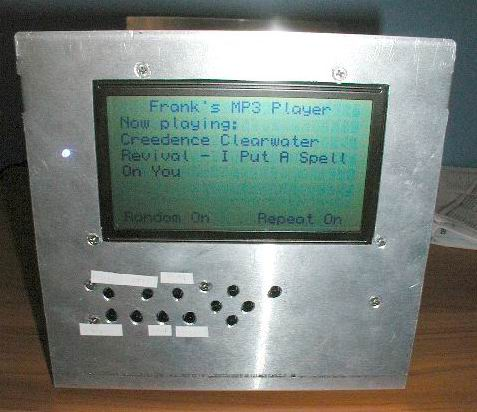MP3 Front Panel